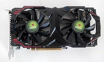 Amazon.com: afox – Tarjeta gráfica GeForce GTX750 2 GB DDR5 ...