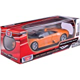 Motormax 73169bk - Véhicule Miniature - Modèle À L'échelle - Lamborghini Murcielago Roadster - Echelle 1/18