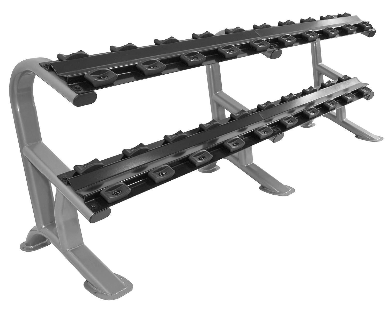 Oval-line CHD Heavy Duty mancuernas para estudio-CALIDAD - estante/rack para 10 pares de mancuernas de hasta: Amazon.es: Deportes y aire libre