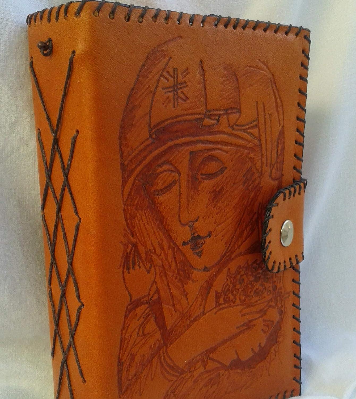 Funda para Salterio o Liturgia de las Horas Virgen abrazando a Jesús: Amazon.es: Handmade