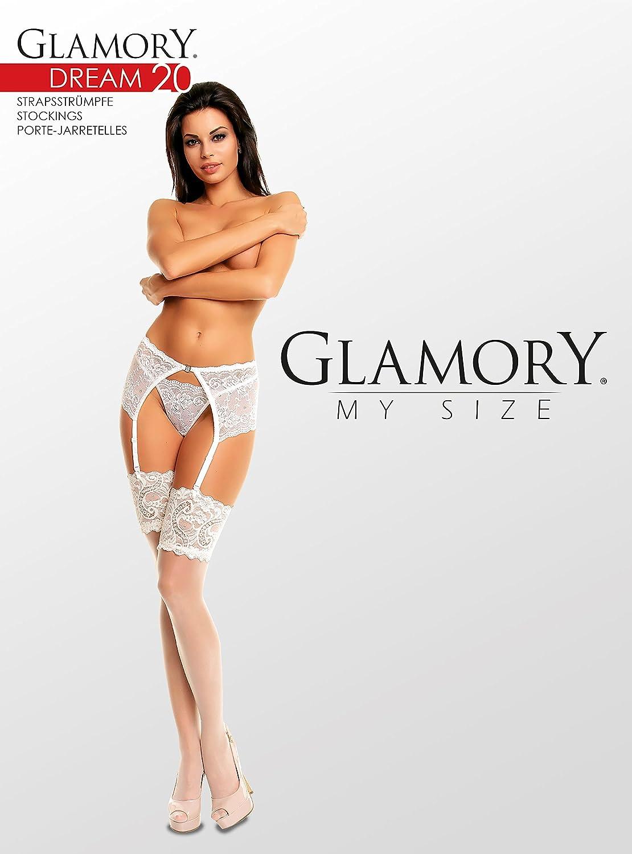 20 DEN Donna GLAMORY Calze per Reggicalze