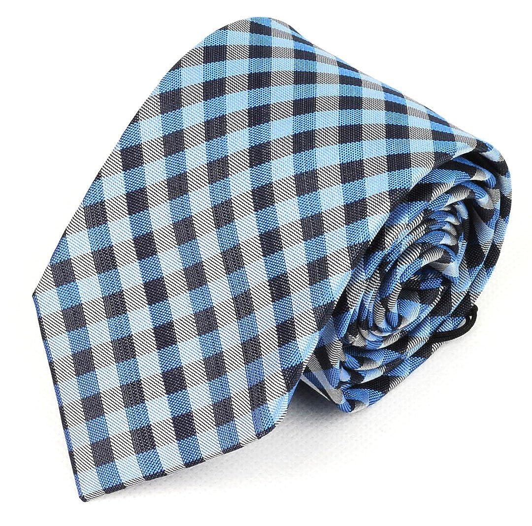 Gemelolandia Corbata Hugo Boss 7,5 cm Cuadros Escoceses Azules ...