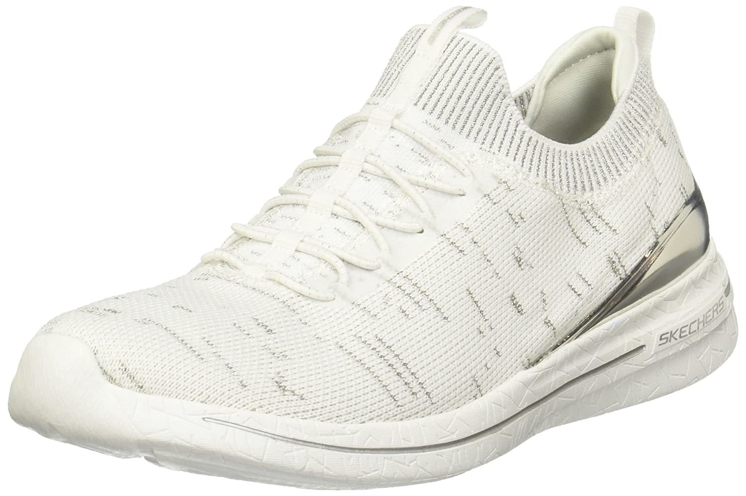 Skechers Damen Turnschuhe Burst Grand Fortune Weiß