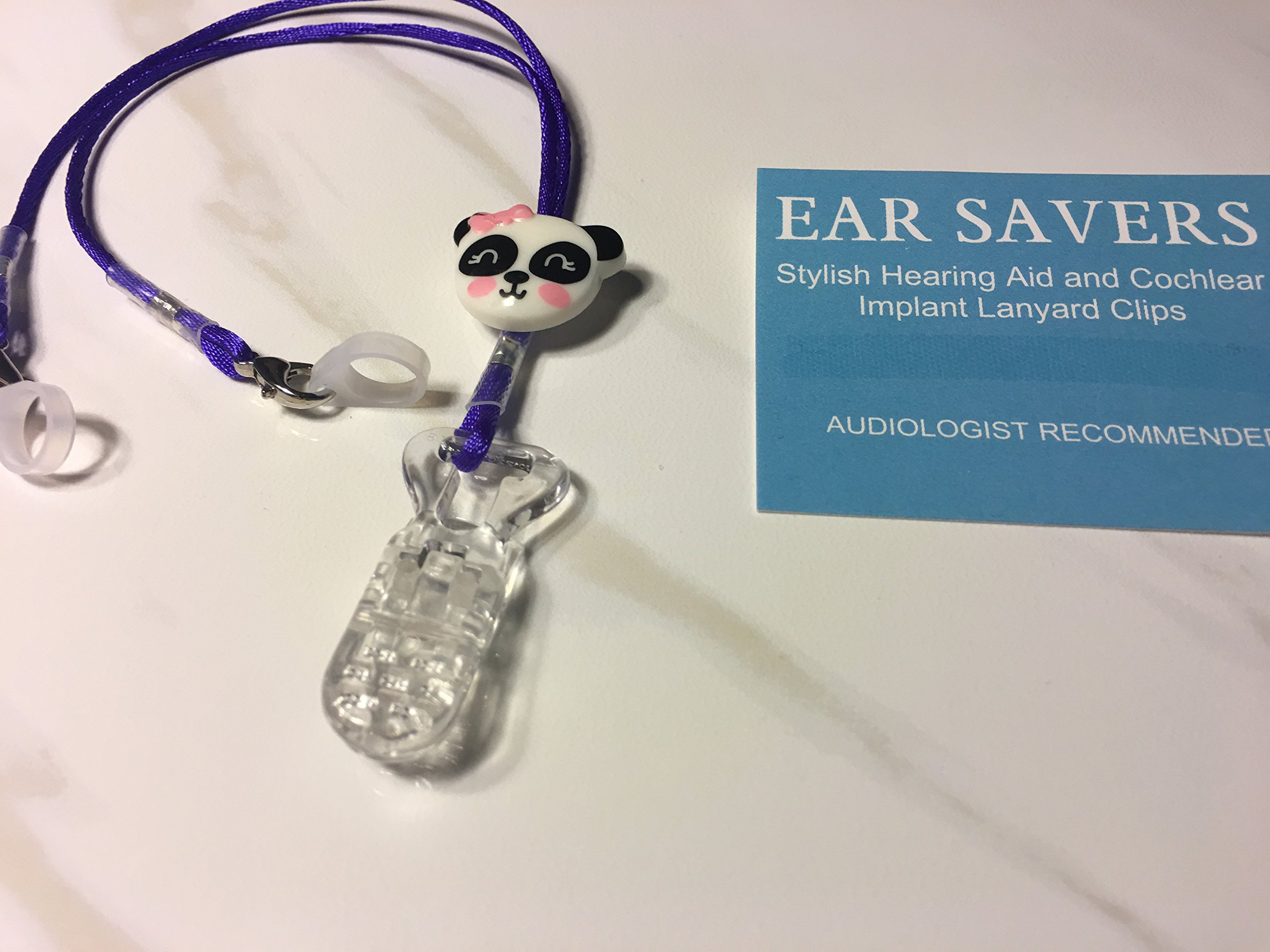 Panda Hearing Aid Clip for Hearing Aids or Cochlear Implants
