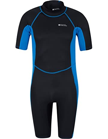 a5fbf35b4b Mountain Warehouse Shorty Mens Wetsuit – Neoprene Swimming Wet Suit