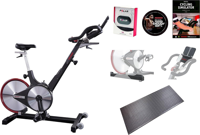Keiser M3i interior ciclo Bundle: Amazon.es: Deportes y aire libre