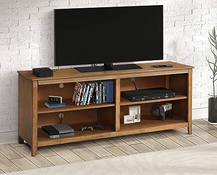 Tv Stand Designs Images : Amazon harper bright designs wf daa wood tv stand