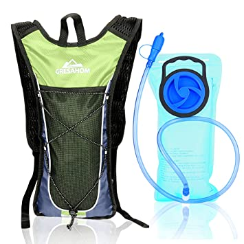 Amazon.com : Hydration Pack Backpack - GRESAHOM Outdoor Hydration ...