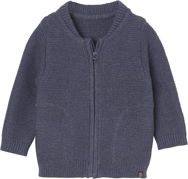 Vertbaudet Baby-Strickjacke f/ür Jungen Baumwolle