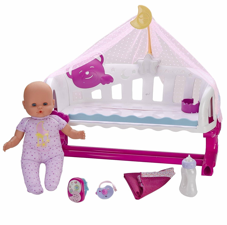 Amazon.es: Nenuco Cunita Duerme Conmigo con Baby Monitor, (Famosa 700014485): Juguetes y juegos