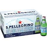 San Pellegrino Sparkling Natural Carbonated Mineral Water, 250 ml (Pack of 24)
