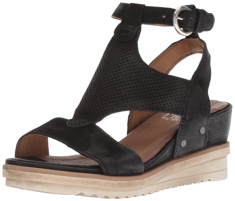 Miz Mooz Women's Maura Sandal B075K5WXKY 37 M EU (6.5-7 US)|Black