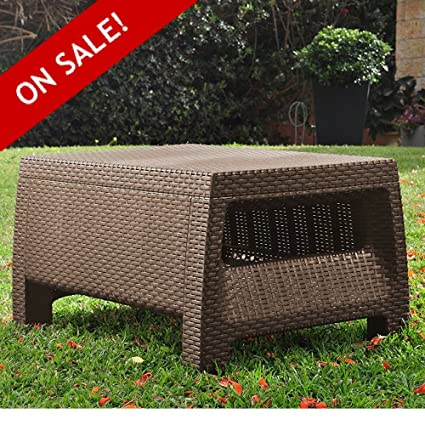 Fine Amazon Com Plastic Wicker Coffee Table Clearance All Pabps2019 Chair Design Images Pabps2019Com