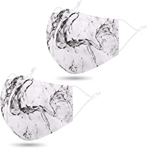 Madks,2 Pcs_Marble Black