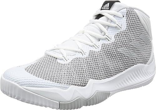 adidas Crazy Hustle, Zapatillas de Baloncesto para Hombre, Blanco ...