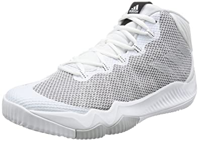 new style cc7a1 fc3dd adidas Crazy Hustle – Men Basketball Shoes, White – (ftwblaplametgrpulg