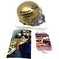 $99 » Quenton Nelson Notre Dame Fighting Irish Signed Autograph Rare Play Like A Champion…