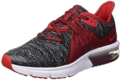 c3c3660d21 Nike Boys Air Max Sequent 3 (Gs) Kids Running Shoes Red in Size US