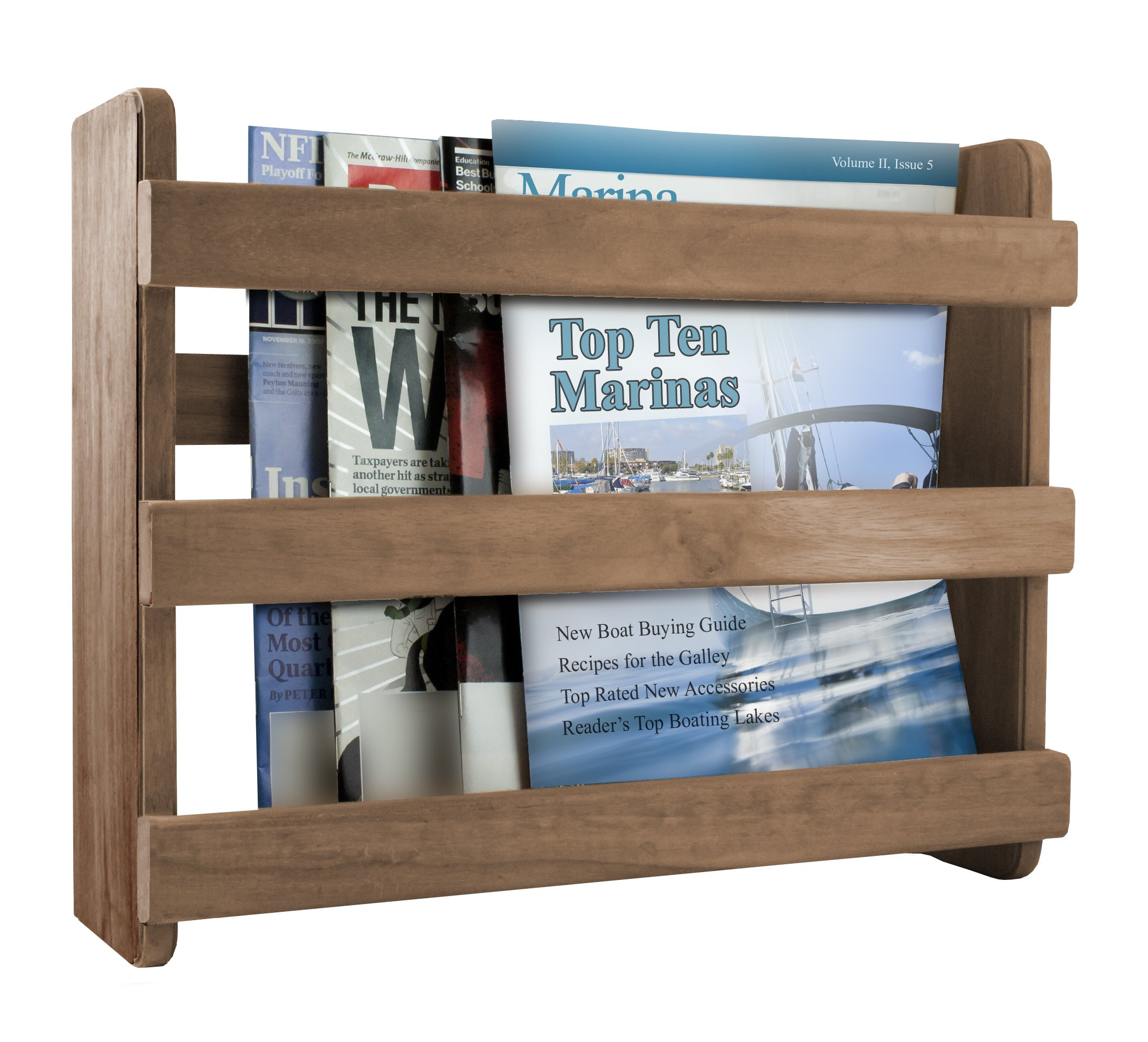 SeaTeak 62506 Magazine Rack by SeaTeak (Image #1)