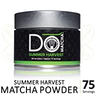 DoMatcha - Summer Harvest Matcha Powder, Authentic Japanese Green Tea Rich with Antioxidants and L-Theanine, Gluten Free and Kosher, 75 Servings (2.82 oz)