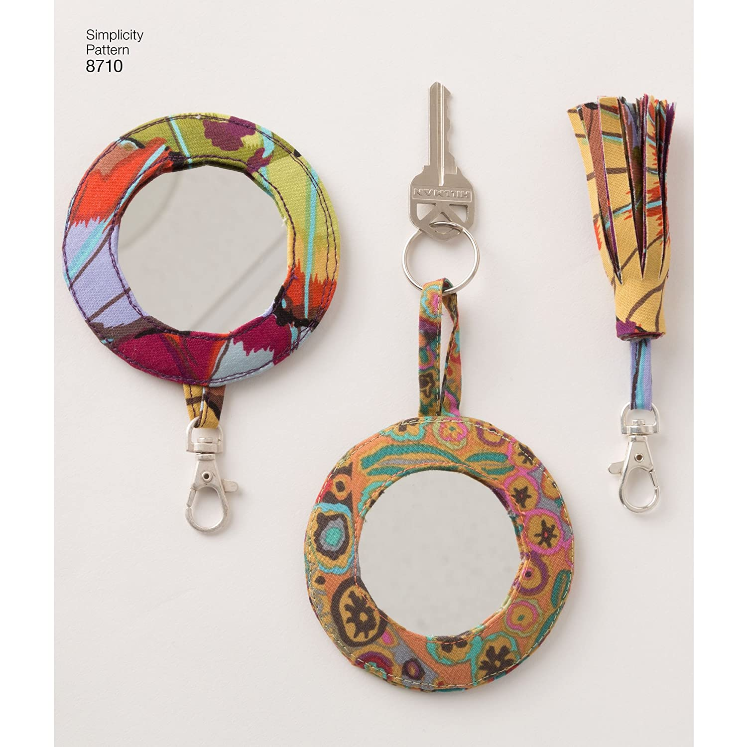 Simplicity Creative Patterns US8710OS Ring and Tassel Accessories