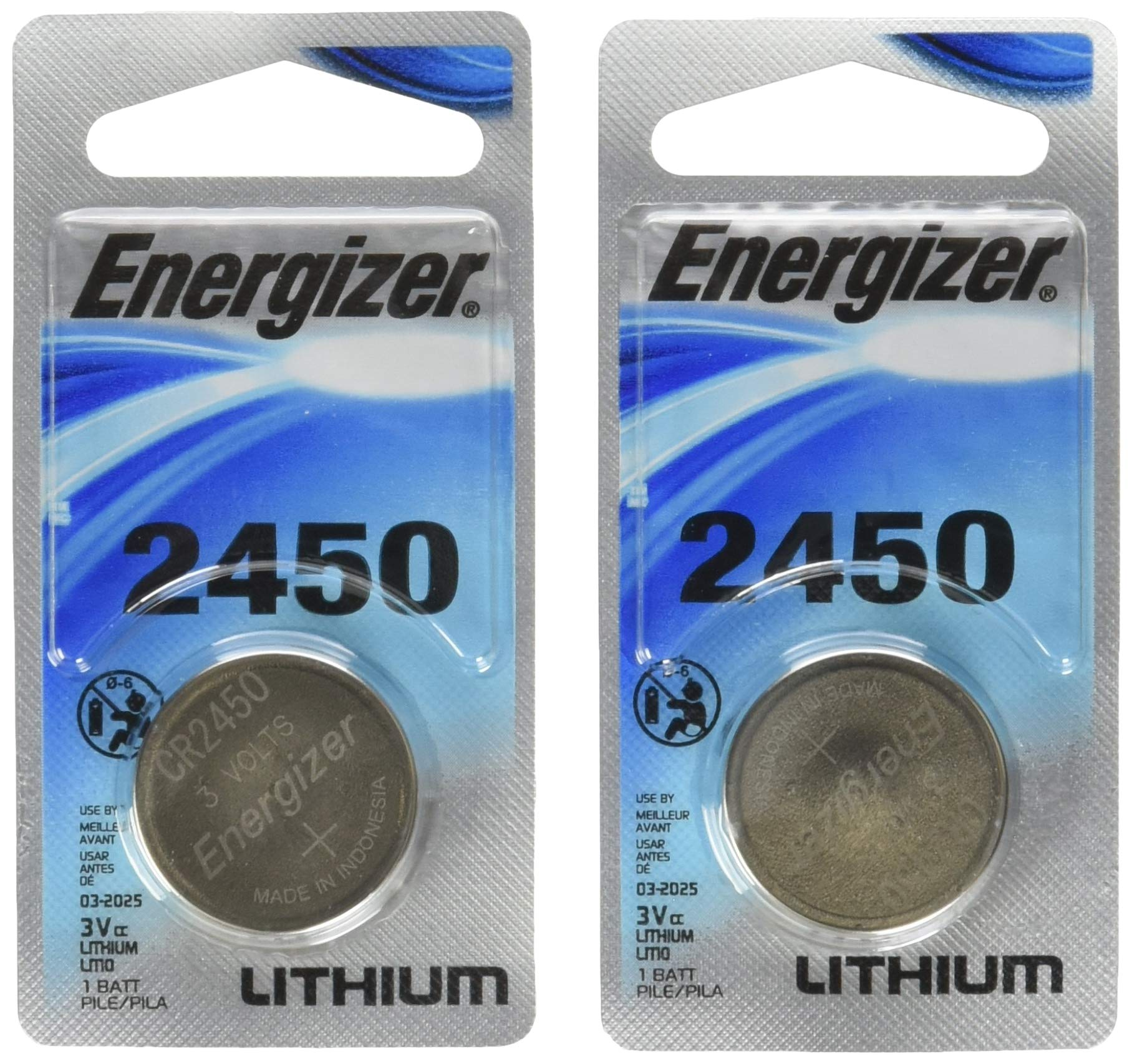 46078efcc2f Energizer Lithium Coin Blister Pack Watch/Electronic Batteries (Pack of 2)