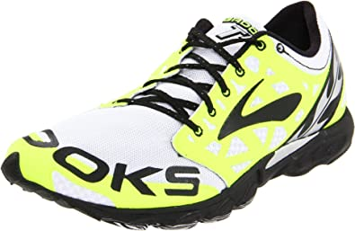 7a336281a9f4d Brooks Unisex-Adult T7 Racer Yellow Black White Trainer 1000191D371 3.5 UK
