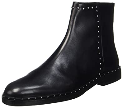 f89f89359681 Melvin   Hamilton Women s s Susan 47 Chelsea Boots Crust Black + Rivets  Nickel