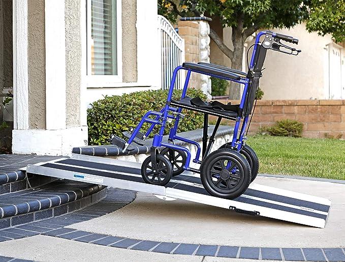 Amazon.com: Clevr - Rampa de carga para silla de ruedas, de ...