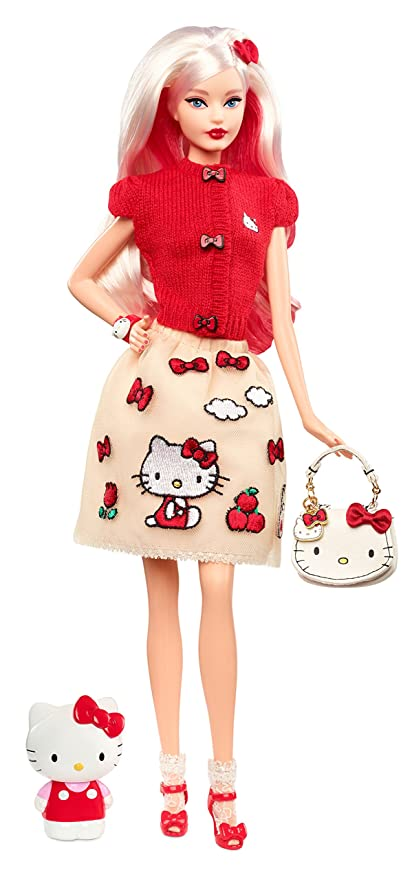 16758baed00 Amazon.com  Barbie Hello Kitty Fashion Doll  Toys   Games