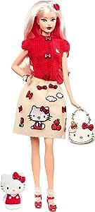 Barbie Hello Kitty Doll, Multi-Colour, DWF58
