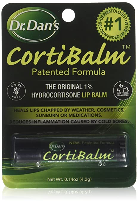 Dr. Dans CORTIBALM 4.20 g (Pack of 4) Rechargeable Facial Scrubber Skin Care Spa Ultrasonic Skin Care Cleaner Scrubber