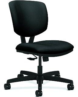 Hon Volt Synchro Tilt Task Chair For Office Or Computer Desk Black Fabric