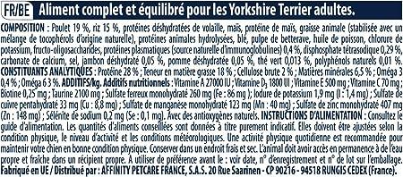 Advance Pienso para Perro Yorkshire Terrier con Pollo - 1500 gr