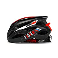 pidien Bike Helmet, Ultra lightweight Adult Helmet with Adjustable Visor, ECO-Friendly Cycle Helmet with Tail Light for Safety Protection