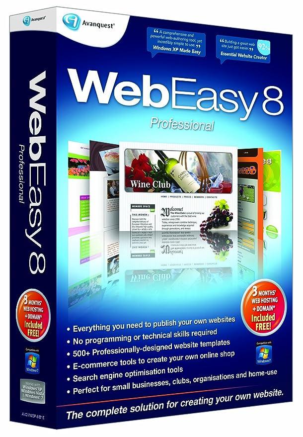 professional website building software