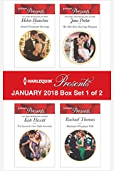 Harlequin Presents January 2018 - Box Set 1 of 2: Alexei's Passionate Revenge\The Innocent's One-Night Surrender\His Merciless Marriage Bargain\Martinez's Pregnant Wife Kindle Edition
