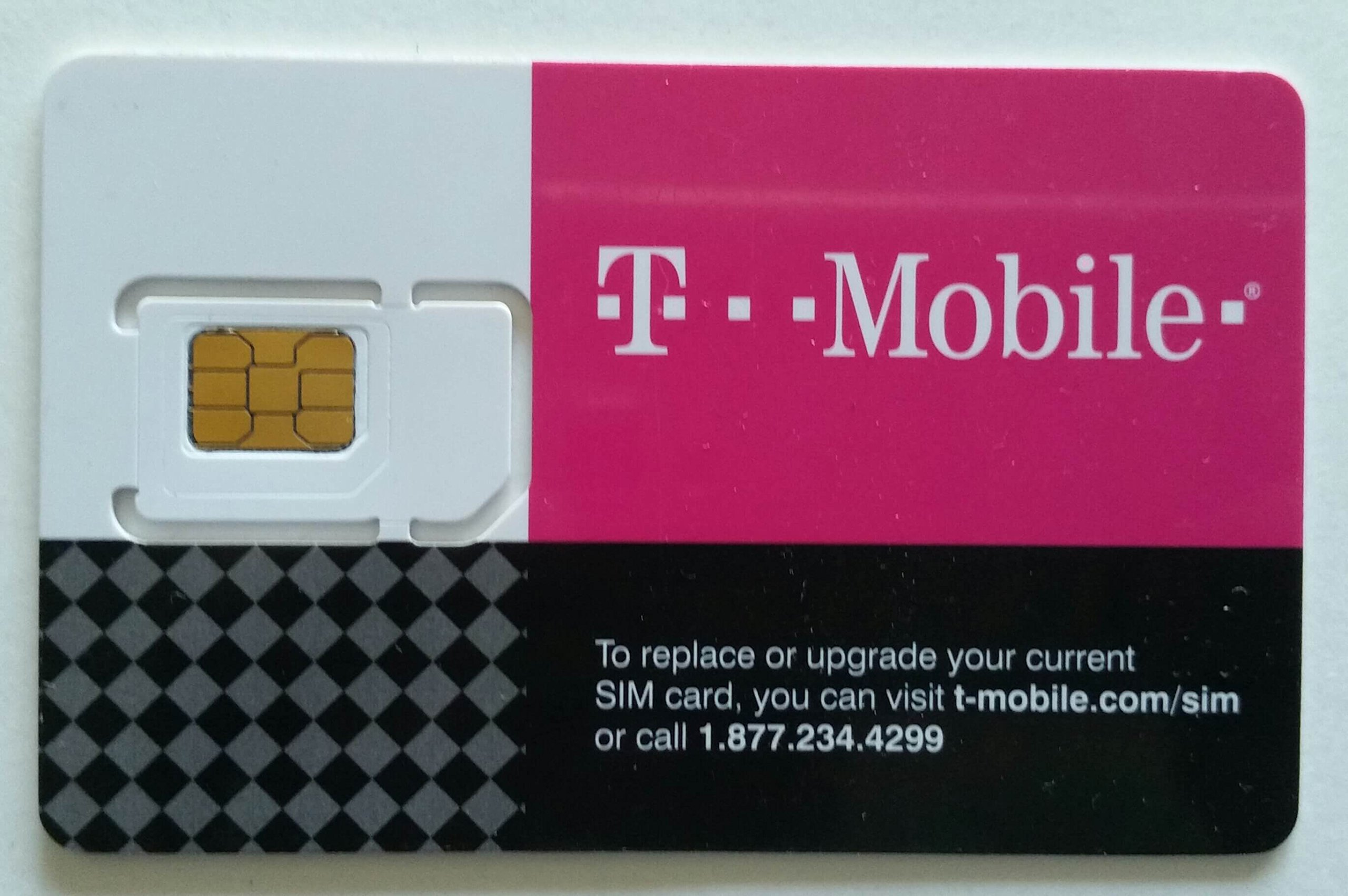 $50 Pre-loaded t-mobile Prepaid Monthly 4G Sim Card UNLIMITED TALK TEXT & DATA(mexico&canada)