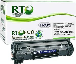 Renewable Toner Compatible MICR Toner Cartridge Replacement for HP CE278A 78A Troy 02-82000-001 Laserjet 1001 1202 M1536 M1537 M1538 M1539 P1566 P1606
