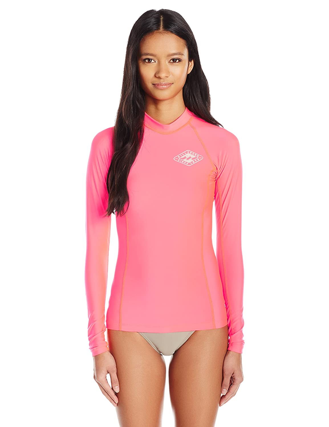 Billabong Women's Surf DayZ Pf Long Sleeve Rashguard Billabong Juniors Swimwear JWLYJSDL