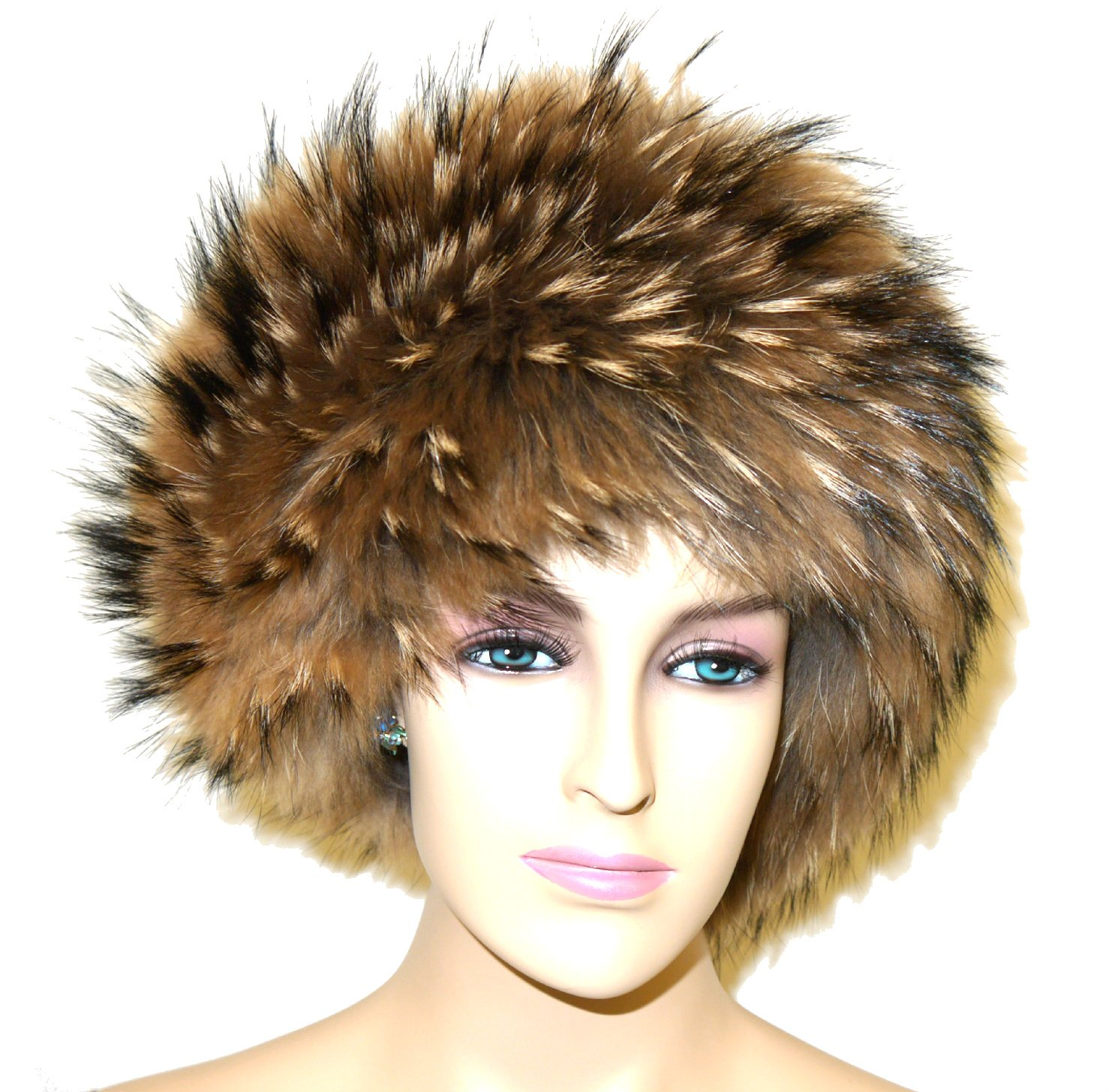 Fox Fur Headband (Raccoon)