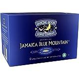 (2 Pack) Dancing Moon Coffee Co., Jamaica Blue Mountain Coffee Pods (100% Jamaica Blue Mountain, (2) 12 CT Boxes)