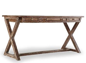 amazon com hooker furniture 638 50003 melange bennett x base rh amazon com x base computer desk x base glass desk