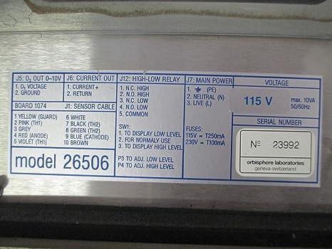 Details about  /ORBISPHERE MODEL 26506 OZONE SENSOR