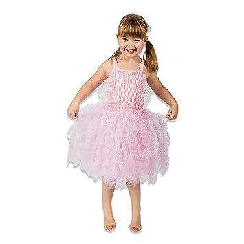 d176757a25b Corset brillant orné Carnaval Costume de fée rose – Costume Costume enfant  fée G 104 des