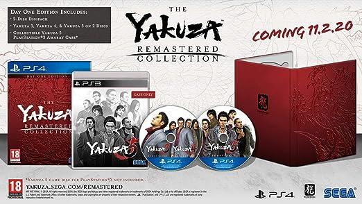 The Yakuza Remastered Collection - Day One Edition [Importación francesa]: Amazon.es: Videojuegos