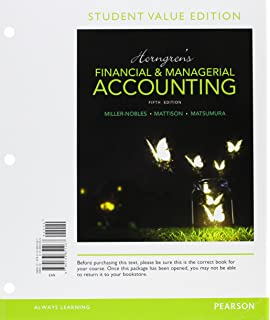 Amazon mylab accounting with pearson etext access card horngrens financial managerial accounting student value edition plus mylab accounting with pearson etext fandeluxe Images