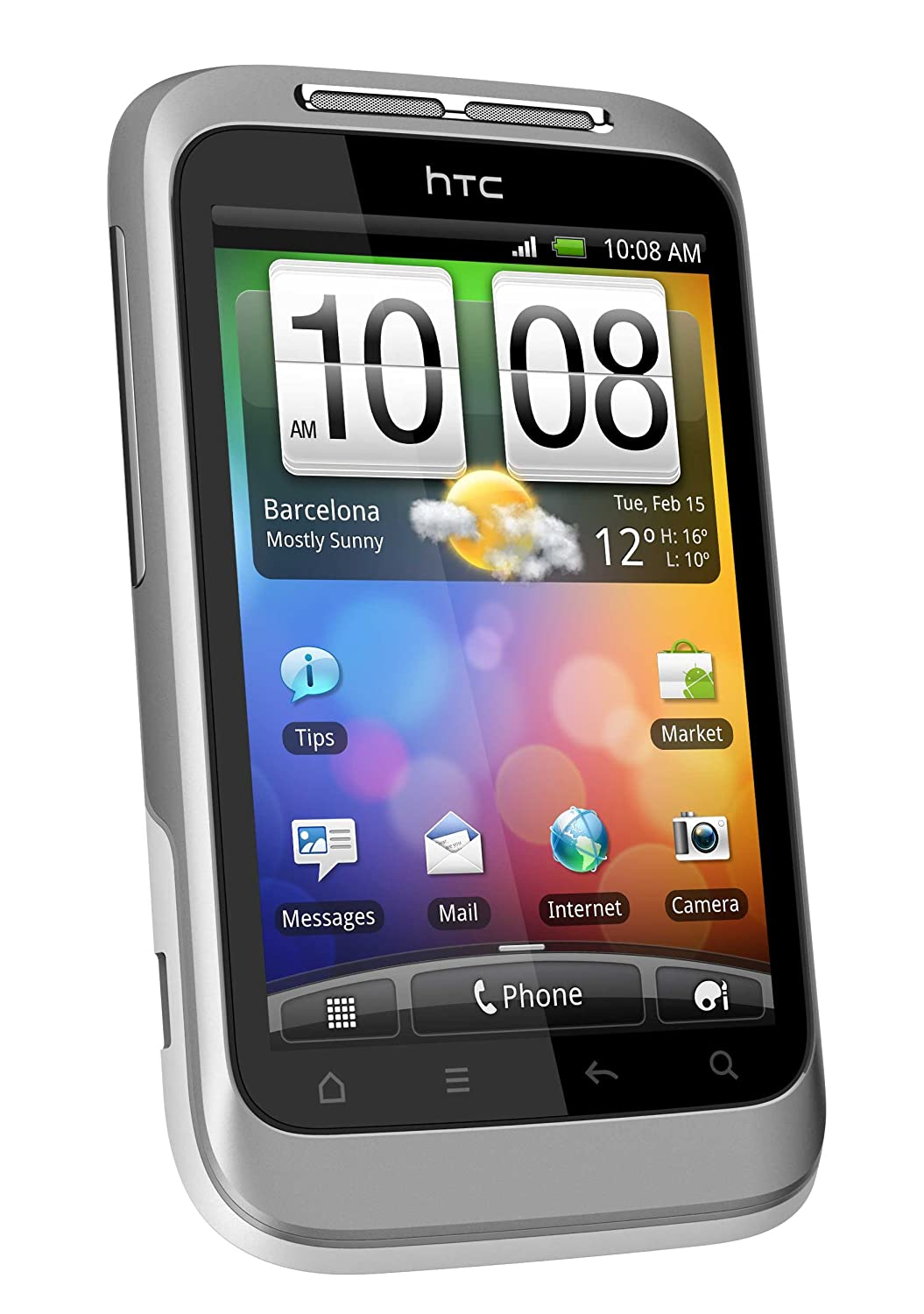 Amazon.com: HTC Wildfire S Quad-band Smartphone - Unlocked: Cell Phones &  Accessories