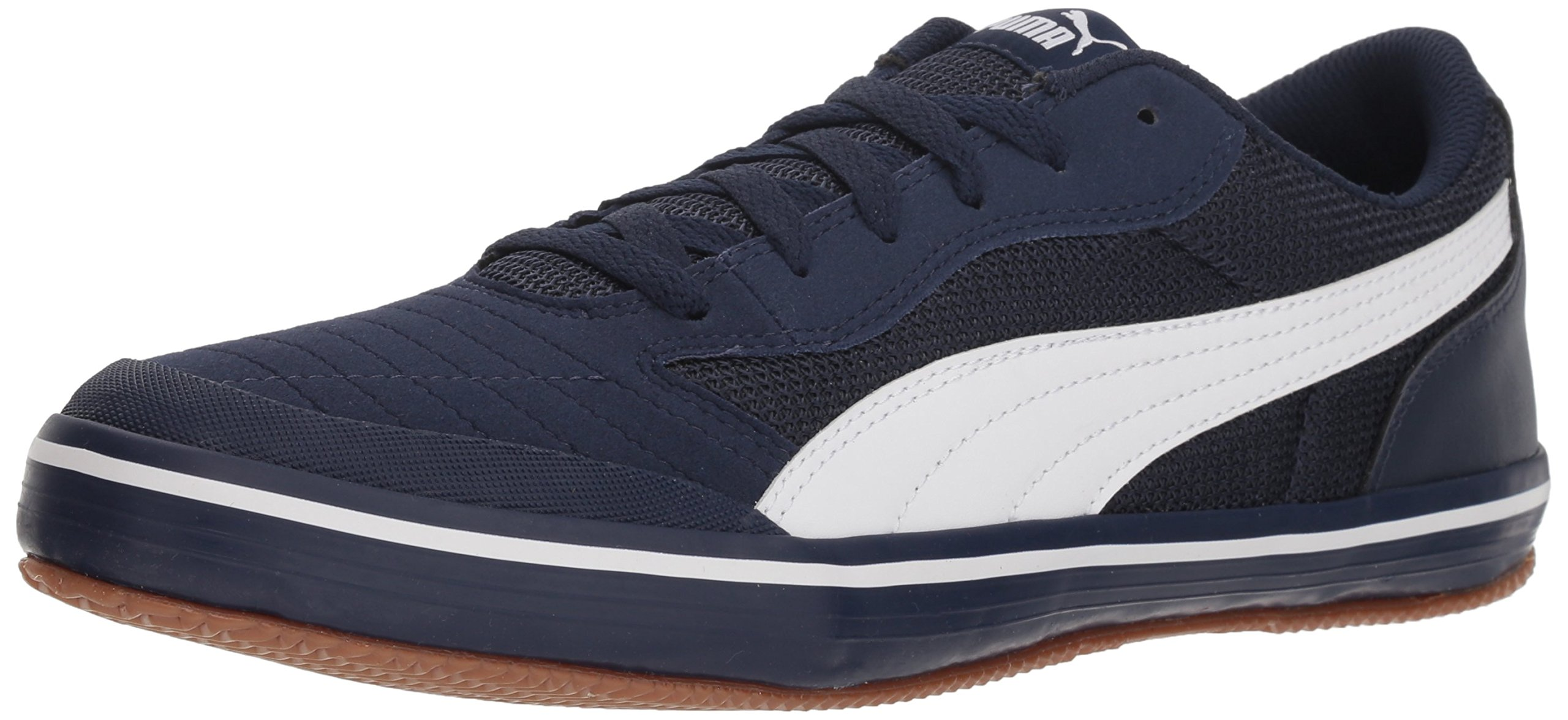 PUMA Men's Astro Sala Sneaker, Peacoat White, 11.5 M US