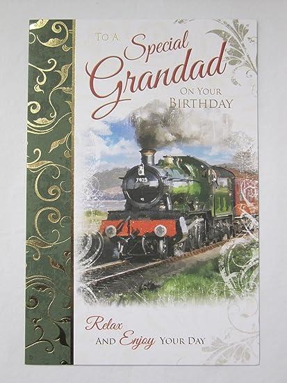 Maravilloso Colorido Old Fashioned tren especial abuelo ...